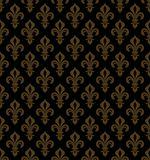 Royal Heraldic Lilies, seamless pattern Stock Photo