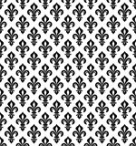 Royal heraldic Lilies, seamless pattern. Royal heraldic Lilies (Fleur-de-lis) -- wallpaper background, seamless pattern Royalty Free Stock Image