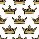 Royal heraldic seamless pattern Stock Image