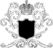 Royal heraldy. Cool royalty heraldic for the best work Stock Photography