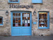 Royal Highgrove Shop Royalty Free Stock Photography