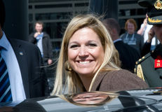 Royal Highness Princess Maxima Stock Photos
