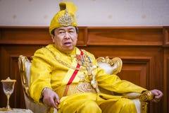 The Royal Highness Sultan of Selangor Stock Photos