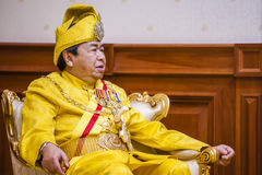The Royal Highness Sultan of Selangor Royalty Free Stock Photography