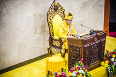 The Royal Highness Sultan of Selangor Royalty Free Stock Images