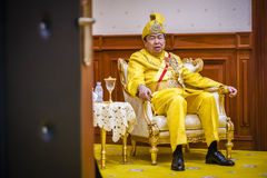 The Royal Highness Sultan of Selangor Stock Photos