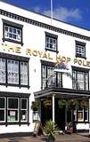 The Royal Hop Pole, Tewkesbury. Royalty Free Stock Photos