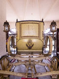 A royal horse-drawn carriage Royalty Free Stock Photography