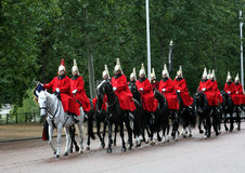 Royal Horse Guards in London Stock Photo