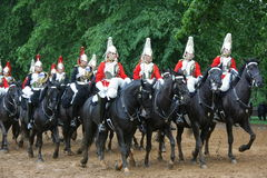 Royal Horse Guards in London Stock Photography