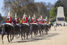 Royal Horse Guards in London Stock Images