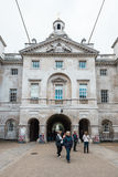 Royal Horse Guards parade  at the Admiralty House in London Stock Photo