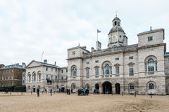 Royal Horse Guards parade  at the Admiralty House in London Royalty Free Stock Photography