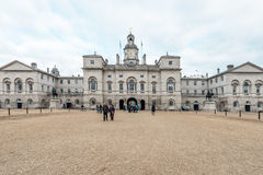 Royal Horse Guards parade  at the Admiralty House in London Stock Images