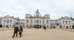 Royal Horse Guards parade  at the Admiralty House in London Stock Image