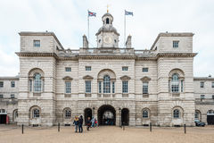 Royal Horse Guards parade  at the Admiralty House in London Royalty Free Stock Images