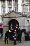 Royal horse guards Royalty Free Stock Photo