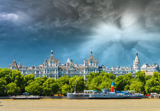 The Royal Horseguards originally built in 1884 in style of a Fre Royalty Free Stock Image