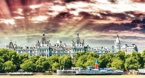 The Royal Horseguards originally built in 1884 in style of a Fre Stock Image
