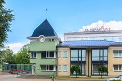 The royal hospital Druskininkai - chief medical health center Stock Photo