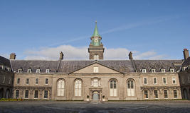 The Royal Hospital Kilmainham. Entrance to the Chapel from the square at royal hospital in Dublin Royalty Free Stock Images