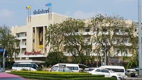 Royal Hotel Bangkok - Ratanakosin Hotel. Old hotel  in inner city with Thailand political hustory Stock Photography