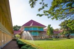 Royal house. Rama Ram royal house at Phetchaburi Royalty Free Stock Images
