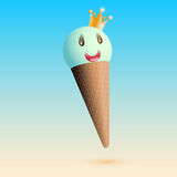 Royal ice cream Royalty Free Stock Image