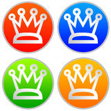 Royal icons Stock Images