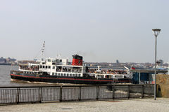 Royal Iris (Mersey Ferry) Pier Head Liverpool. Royalty Free Stock Images