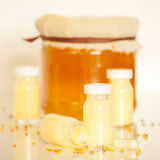 Royal jelly Royalty Free Stock Image