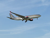 Royal Jordanian Royalty Free Stock Photo