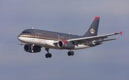 Royal Jordanian Airbus A319 Stock Images
