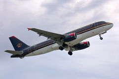 Royal Jordanian Airbus A320 Stock Photo