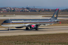 Royal Jordanian Airbus A321 Royalty Free Stock Photos