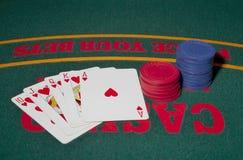 royal kasę prosto Zdjęcia Stock