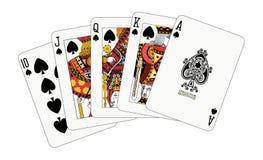 royal kasę spade royalty ilustracja