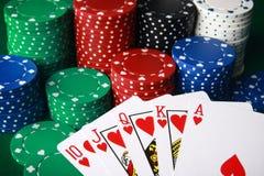 royal kasę Zdjęcie Stock