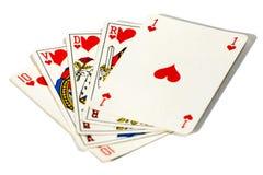 royal kasę prosto Obraz Stock