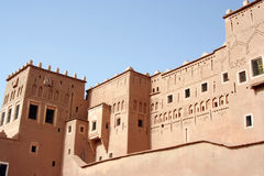 Royal kasbah Stock Image