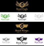 Royal King Crest Logo Royalty Free Stock Image