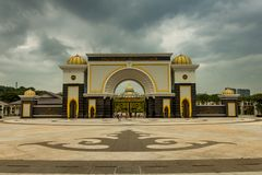 Royal King`s Palace, KL Malaysia. The Royal King`s Palace Istana Negara KL Malaysia Royalty Free Stock Photography