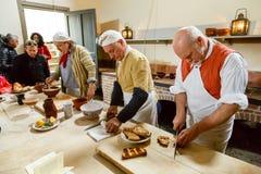 Royal Kitchens Kew Palace Stock Photo