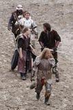 Royal knights. In armor.. Maximilian Ritterspiele Horb e.V Royalty Free Stock Image