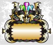 Royal label Royalty Free Stock Photo