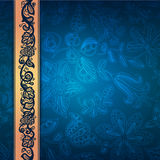 Royal lace decorative pattern of abstract composit royalty free illustration