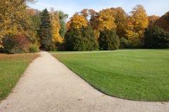 Royal Lazienki Gardens in Warsaw Stock Photo