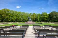 Royal Lazienki Park and Chopin Statue in Warsaw Royalty Free Stock Photography