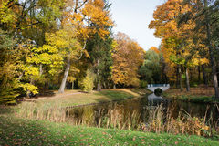 Royal Lazienki Park in Warsaw Stock Photo