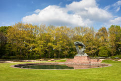 Royal Lazienki Park in Warsaw Royalty Free Stock Images